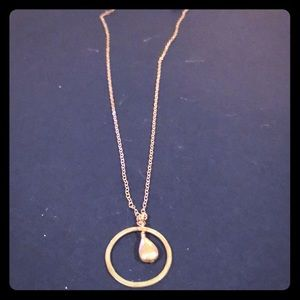 Jewelry - SS circle with bead necklace
